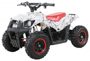 Kinder Miniquad Tiger EA19 1000W weiss