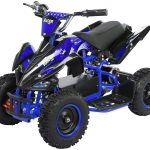 Miniquad Kiddyracer E-Power blau