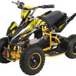 Miniquad Kiddyracer E-Power gelb