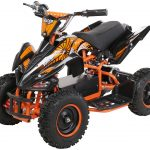 Miniquad Kiddyracer E-Power orange