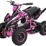 Miniquad Kiddyracer E-Power pink