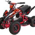 Miniquad Kiddyracer E-Power rot