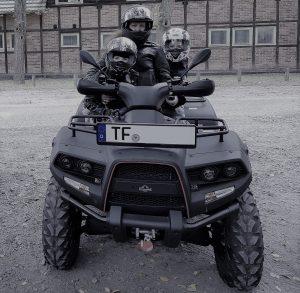 Gladiator T6 Black Rock m. Fam