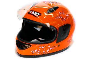 KIMO Kinder Integralhelm orange