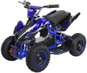 Miniquad Kiddyracer E-Power blau
