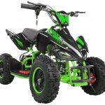 Miniquad Kiddyracer E-Power grün