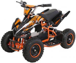 Miniquad Kiddyracer E-Power orange