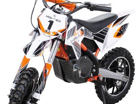 E-Crossbike Gazelle orange