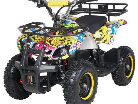 Mini-ATV Torino 1000W graf/gelb